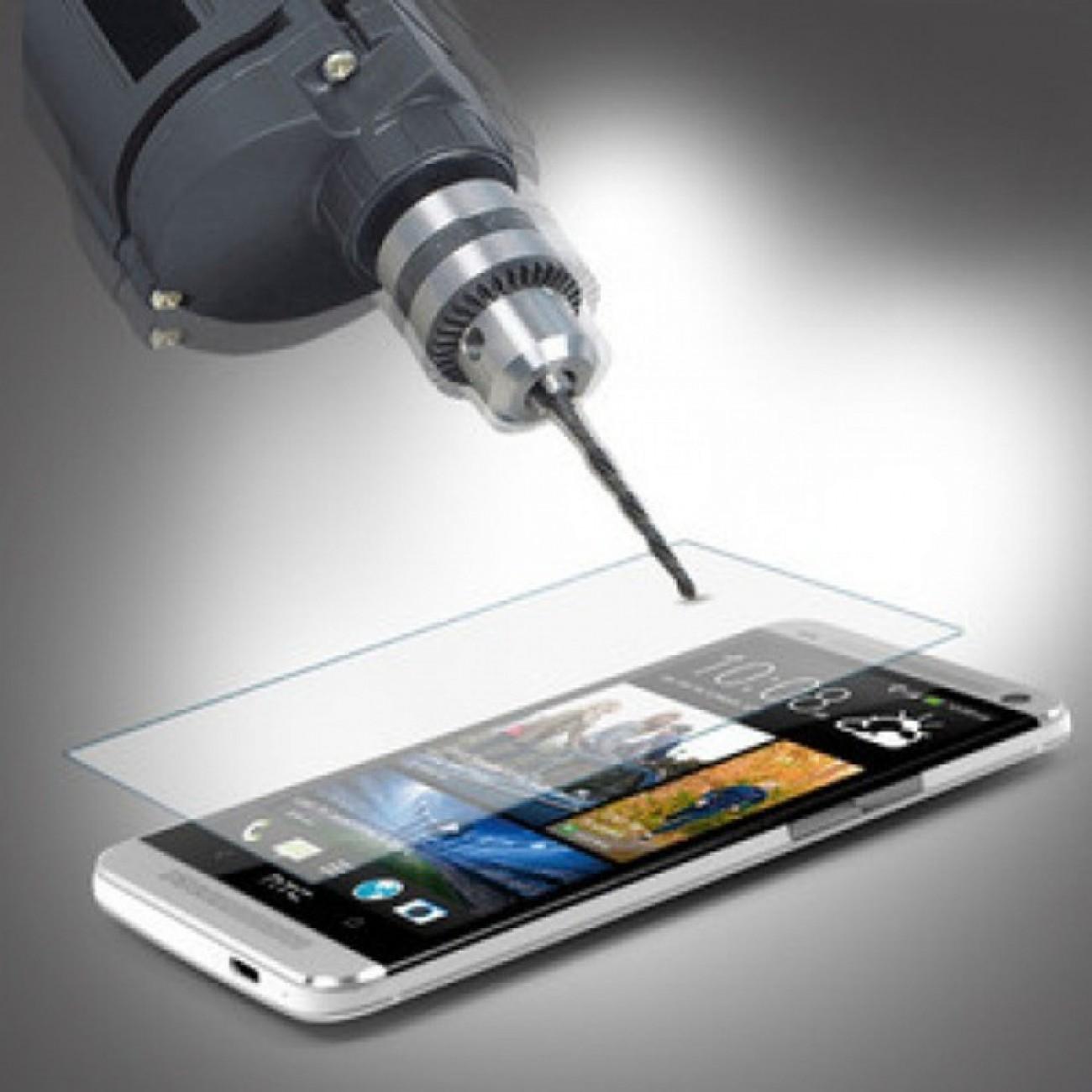 Протектор от закалено стъкло /Tempered Glass/ за HTC One M7, прозрачно в Защитно фолио -  | Alleop