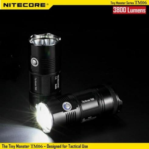 Фенер Nitecore TM06, 4x ICR18650 батерии, 3800 lm, водонепропускливост, удароустойчив, за открито в Фенери -  | Alleop