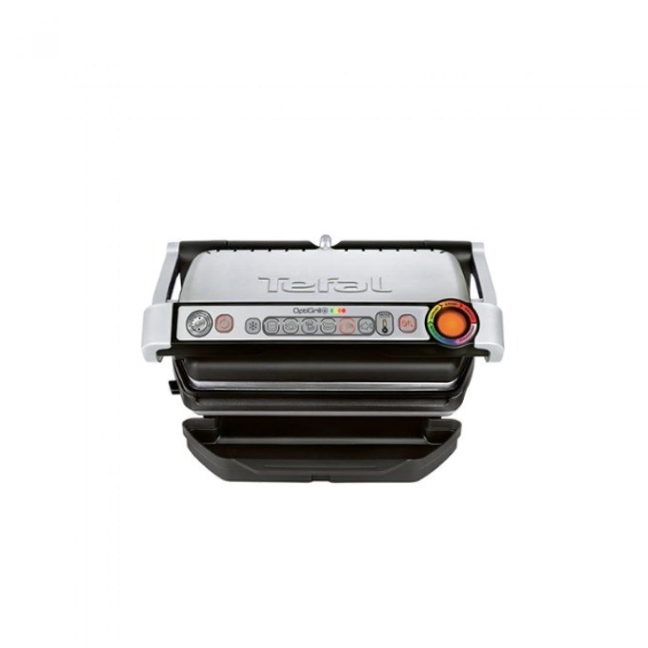 Грил Tefal GC712D34, система за автоматично готвене, сменяеми плочи, 2000W в Електрически скари -  | Alleop