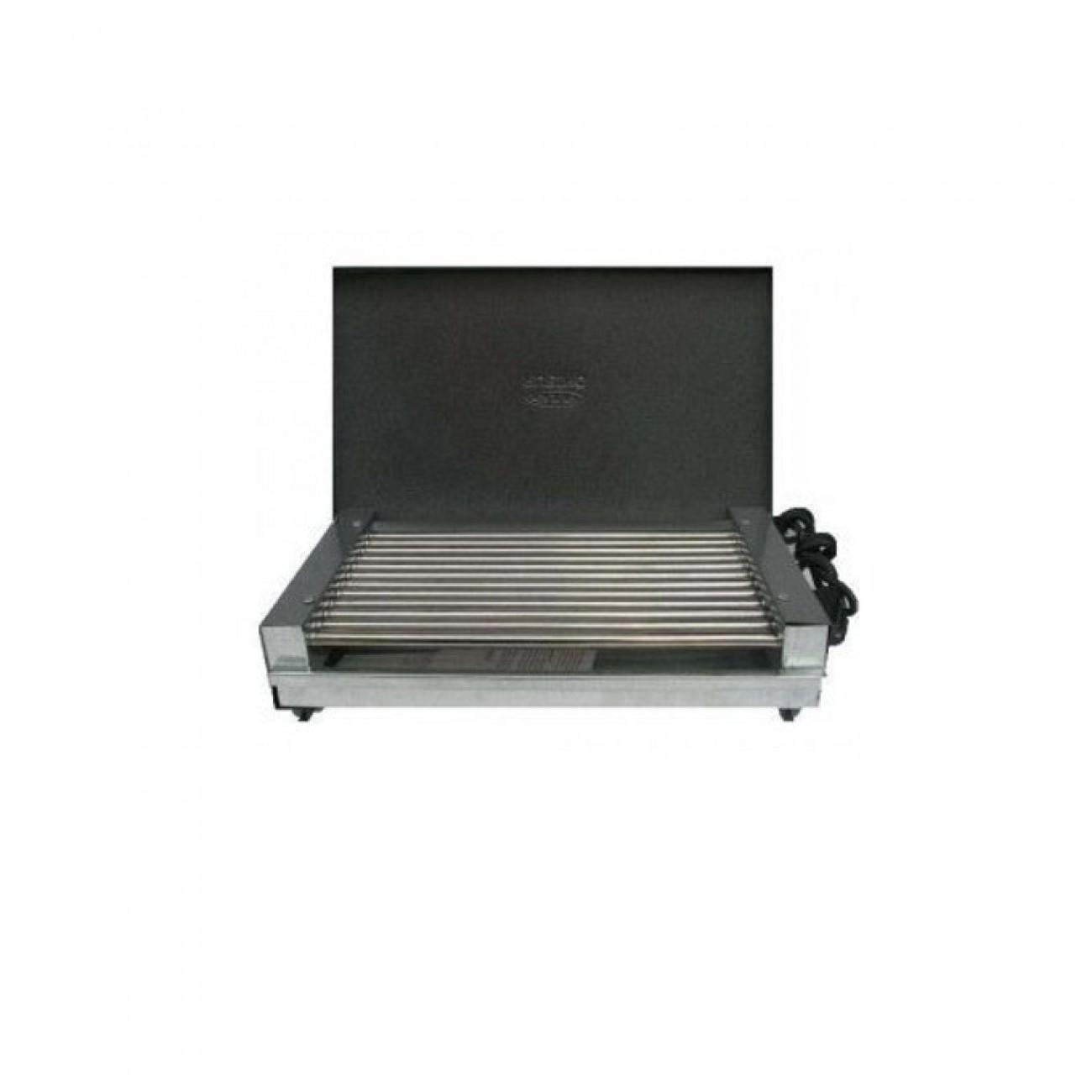 Скара Рубино 1600 С КАПАК, мощност 1600 W в Електрически скари - Rubino   Alleop