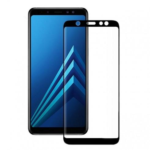 Протектор от закалено стъкло /Tempered Glass/ Eiger, Samsung Galaxy A6 Plus (2018) в Защитно фолио - Eiger   Alleop