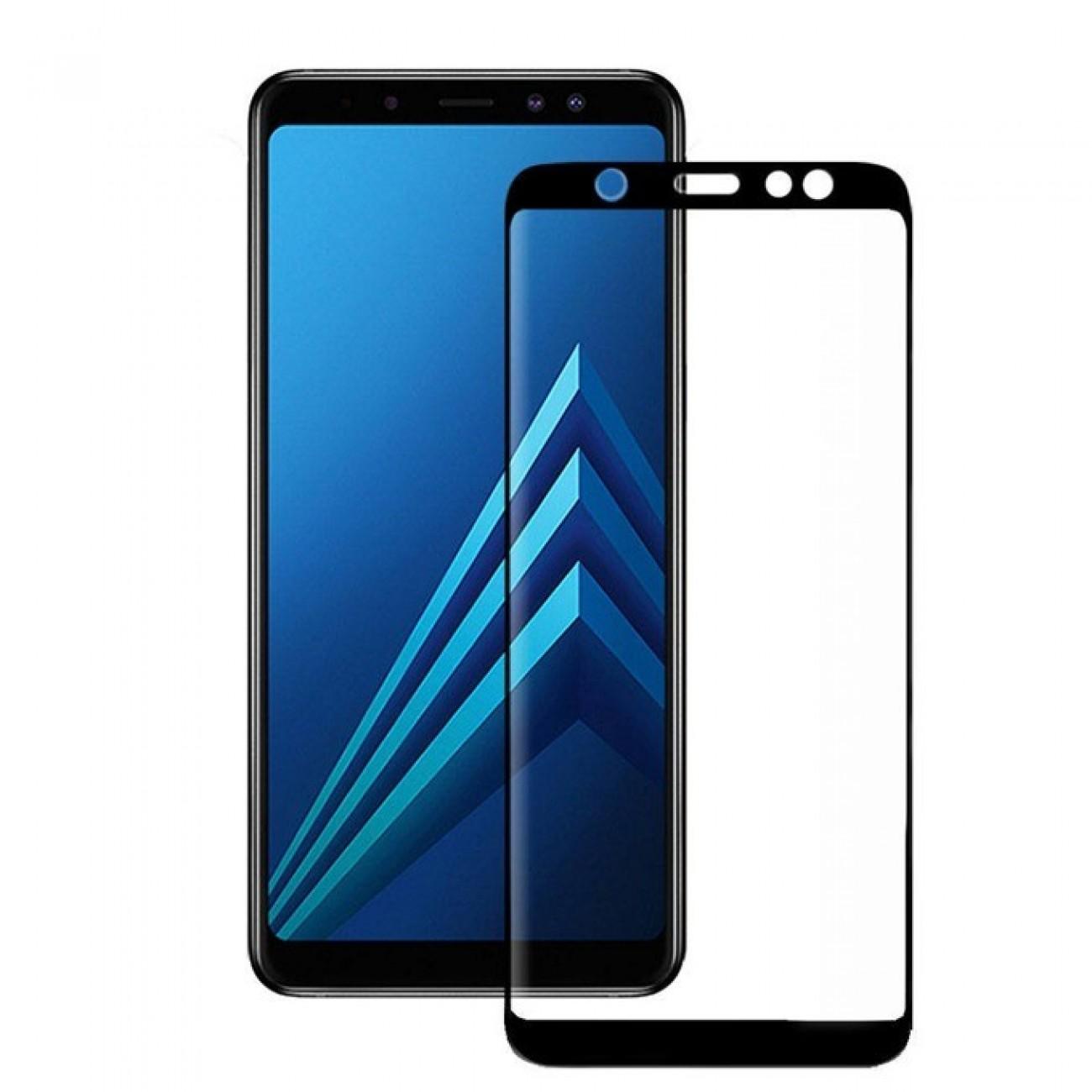 Протектор от закалено стъкло /Tempered Glass/ Eiger, Samsung Galaxy A6 (2018) в Защитно фолио - Eiger   Alleop