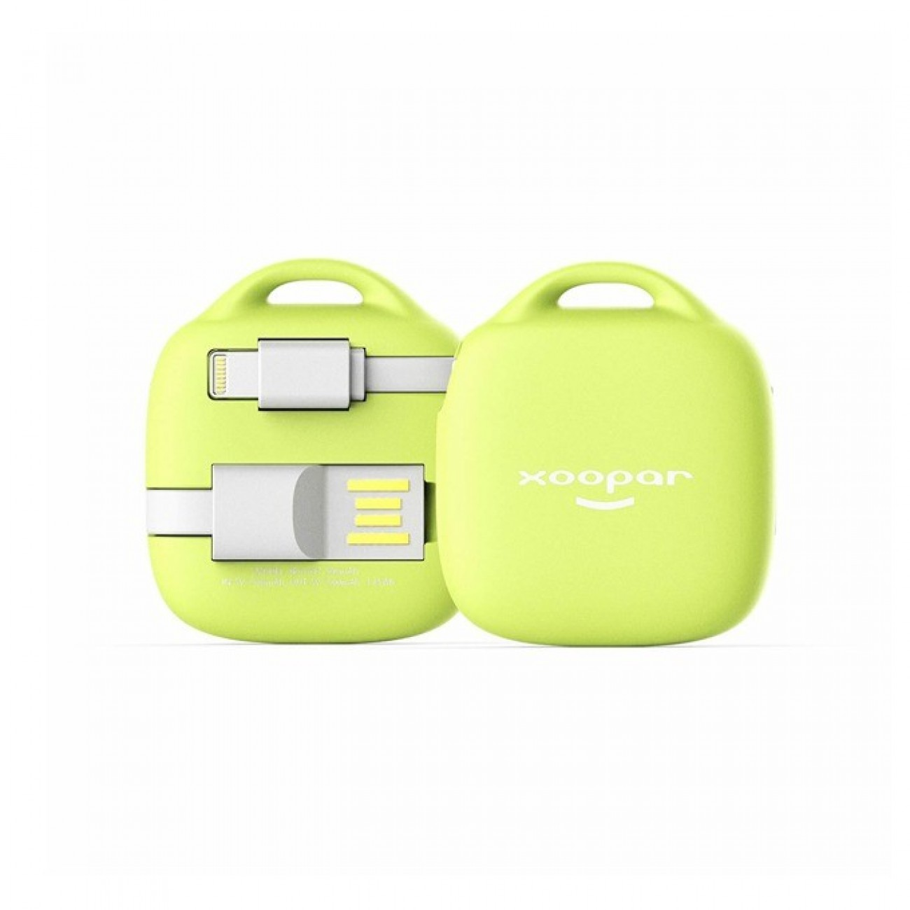 Външна батерия /power bank/ Xoopar Hug Booster, 500 mAh, жълта в Външни батерии - Xoopar | Alleop