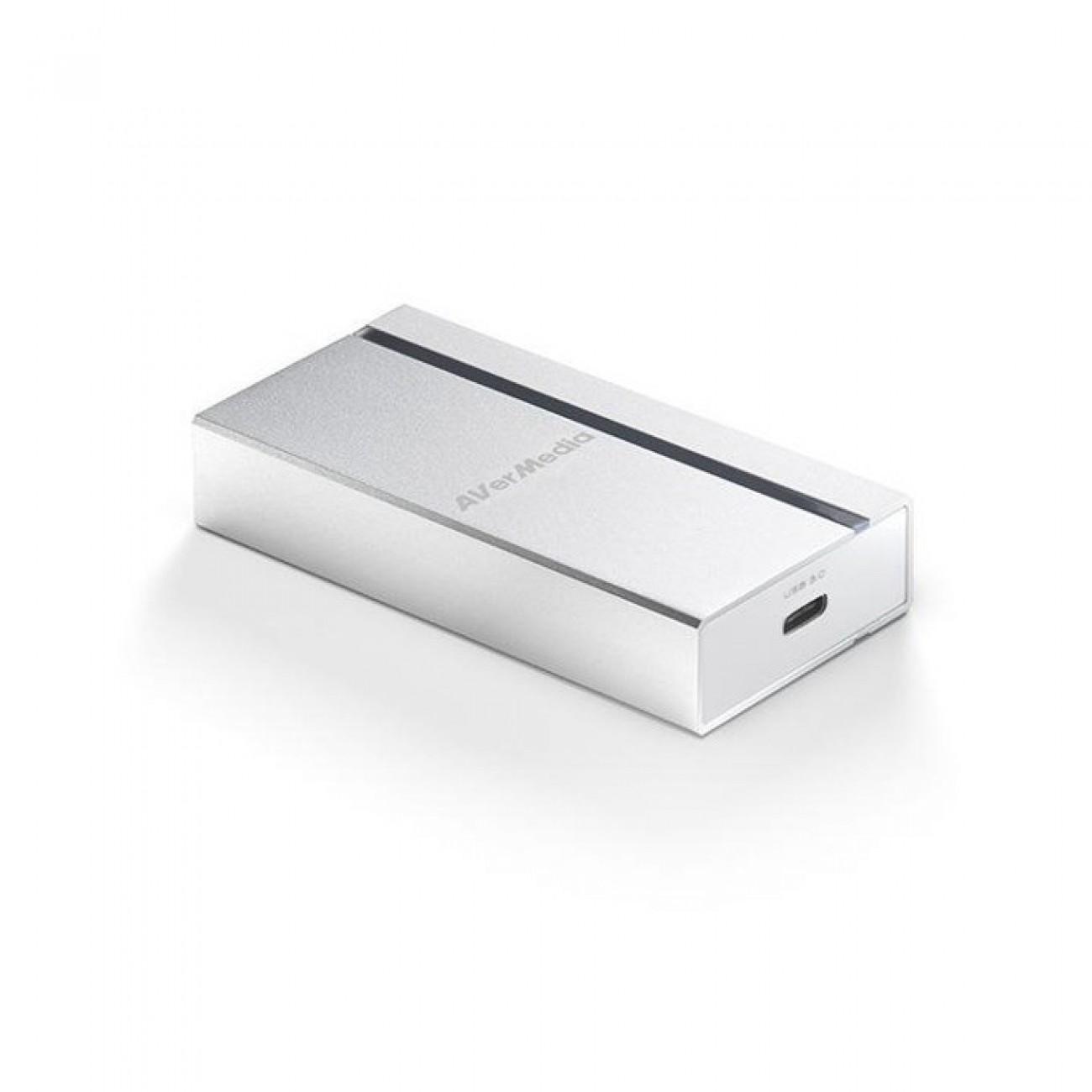 Конвертор AverMedia ExtremeCap UVC, от HDMI(ж) към USB-C(ж), бял в KVM сплитери и превключватели - Matrox | Alleop