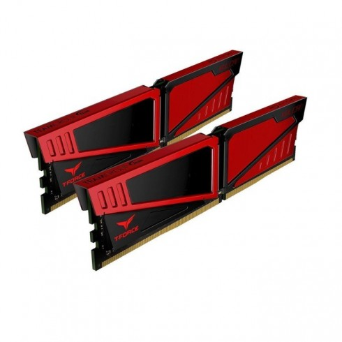 16GB (2x8GB) DDR4 3000MHz, Team Group T-Force Vulcan, TLRED416G3000HC16CDC01, 1.35V в Настолни компютри Памети - TeamGroup | Alleop