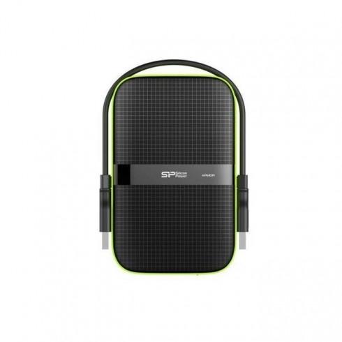 Твърд диск 5TB Silicon Power Armor A60, 2.5(6.35 cm), ударо-устойчив, външен, USB3.1, 3г. гаранция в Твърди дискове Външни - Silicon Power | Alleop