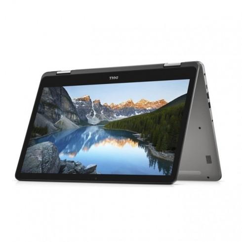 Лаптоп Dell Inspiron 7773 (5397184199282)(сив), четириядрен Kaby Lake R Intel Core i7-8550U 1.8/4.0 GHz, 17.3 (43.94 cm) Full HD IPS Glare Touchscreen Display & GF MX150 2GB, (HDMI), 16GB DDR4, 512GB SSD, 1x USB 3.1 Type C, Windows 10, 3.29 kg в Лапто