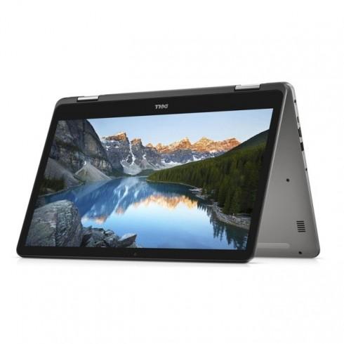 Лаптоп Dell Inspiron 7773 (5397184199275)(сив), четириядрен Kaby Lake R Intel Core i5-8250U 1.6/3.4 GHz, 17.3 (43.94 cm) Full HD IPS Glare Touchscreen Display & MX150 2GB, (HDMI), 12GB DDR4, 1TB HDD, 1x USB 3.1 Type-C, Windows 10, 3.29 kg в Лаптопи -
