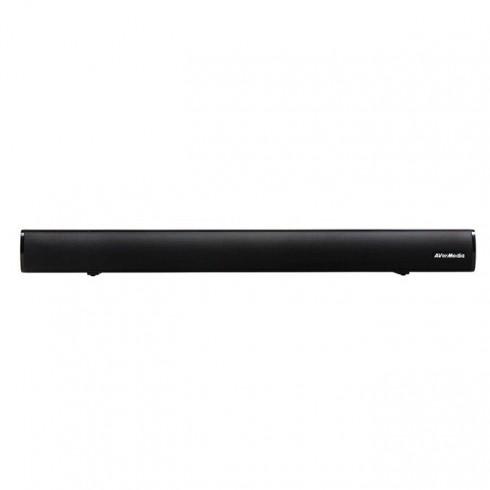 Soundbar система AverMedia AS510, TV soundbar, 2.0, 40W, Bluetooth, Optical audio, AUX, Line In, USB, черен в Soundbar системи - AVerMedia | Alleop