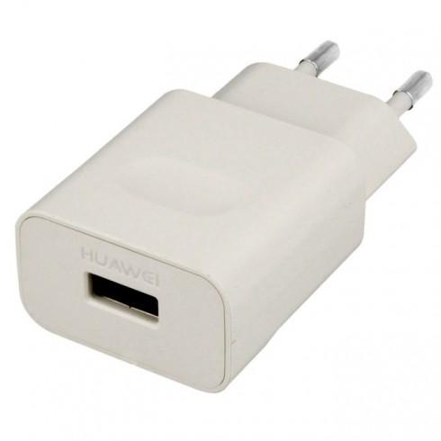 Зарядно устройство Huawei Travel Charger HW-050100E01, 5V / 1A, бял (Bulk) в Зарядни устройства за батерии - Huawei | Alleop