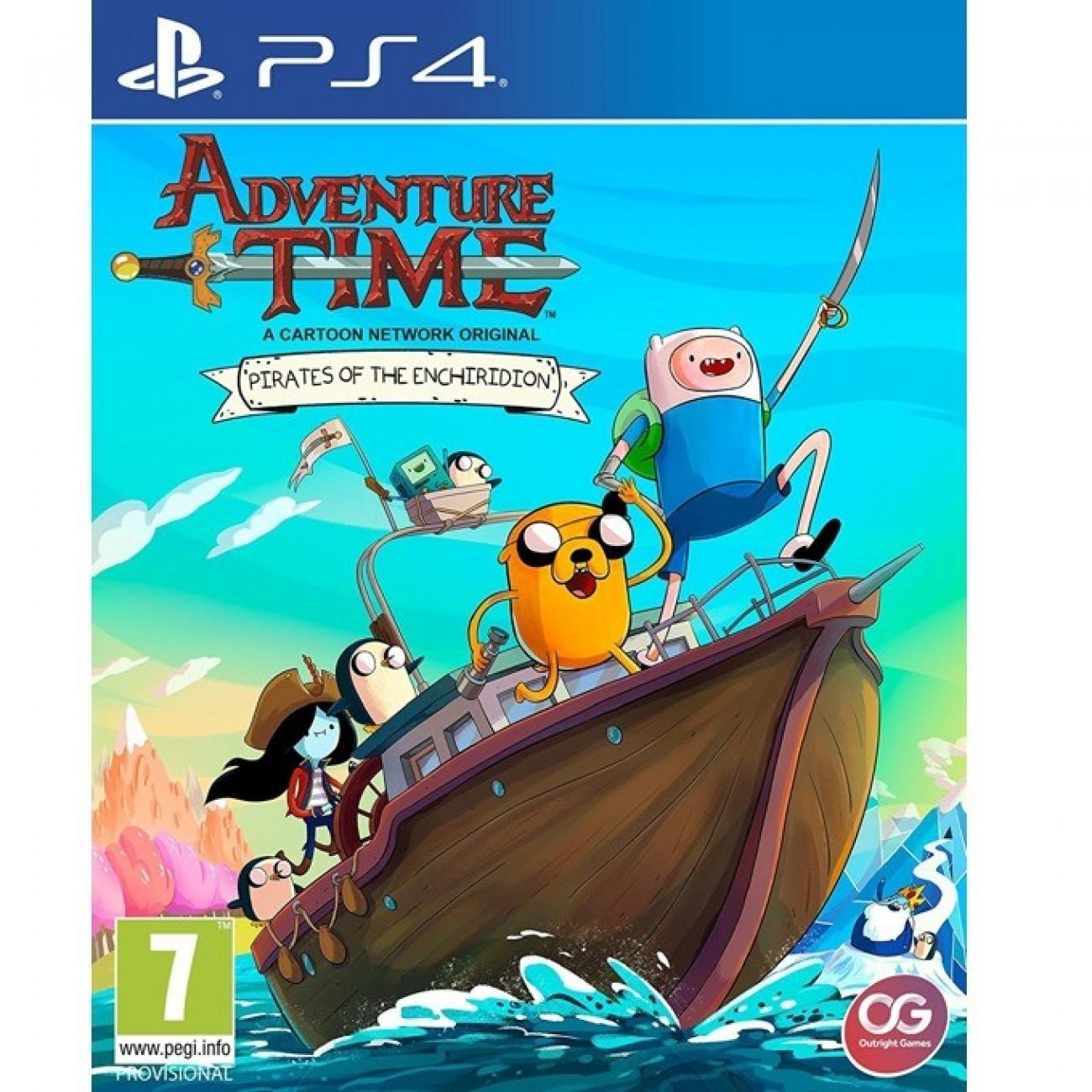 Игра за конзола Adventure Time: Pirates of the Enchiridion, за PS4 в Игри за Конзоли - Outright Games | Alleop