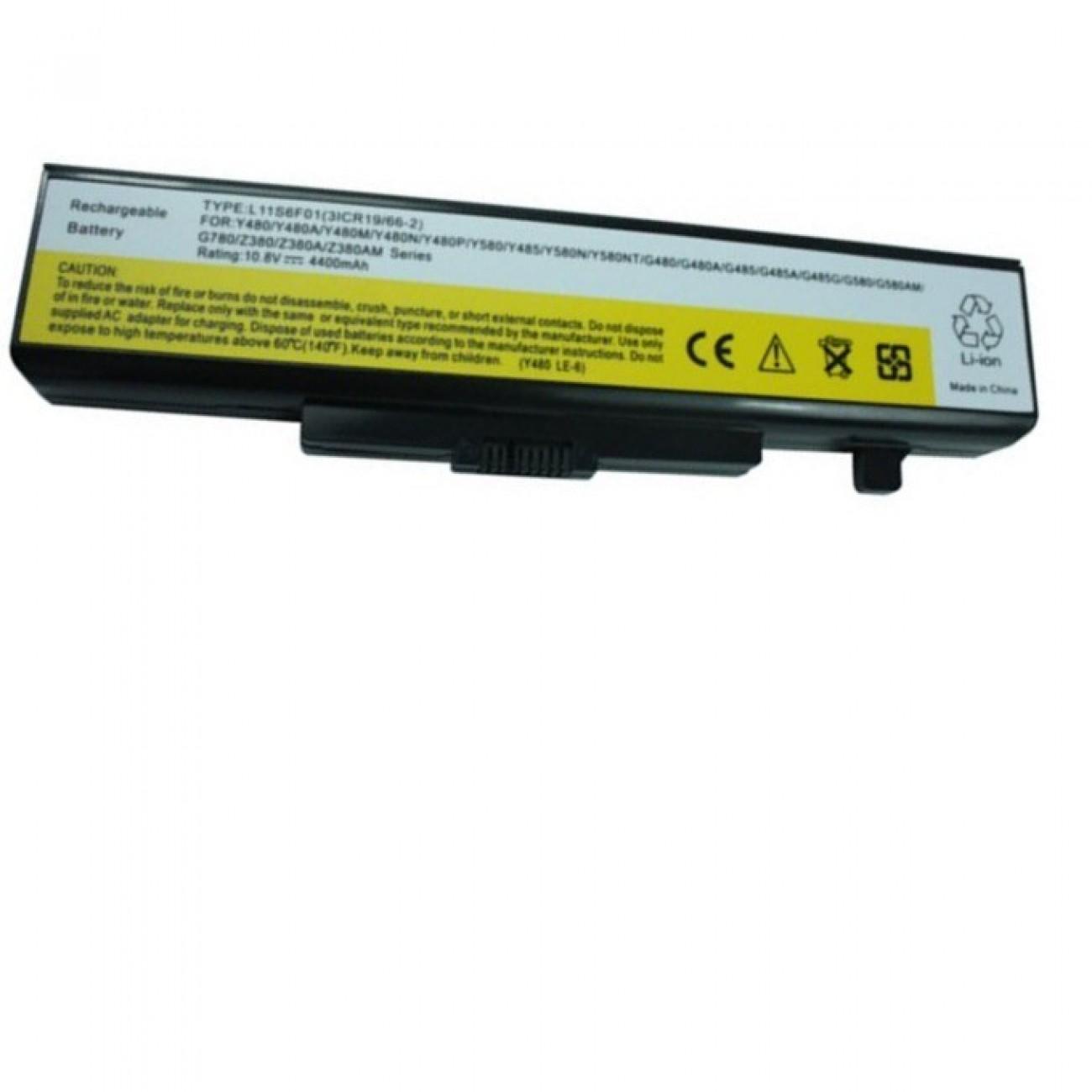 Батерия (заместител) за лаптоп Lenovo IdeaPad V480/Z480/Z580/Y580/G480, 6-cell, 11.1V, 5200mAh в Батерии за Лаптоп - Lenovo   Alleop