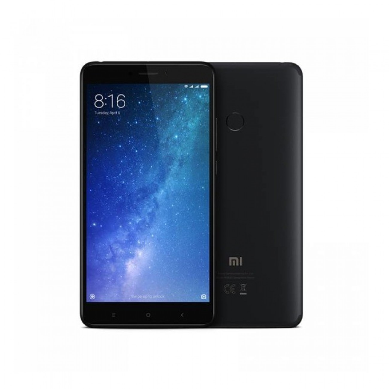 Xiaomi Mi Max 2 (черен), 6.44 (16.35 cm) Full HD, осемядрен Qualcomm MSM8953 Snapdragon 625 (2.0 GHz Cortex-A53), 4GB RAM, 64GB Flash памет(+microSD слот), 12 & 5 Mpix camera, Android, 211g в Мобилни телефони - Xiaomi | Alleop