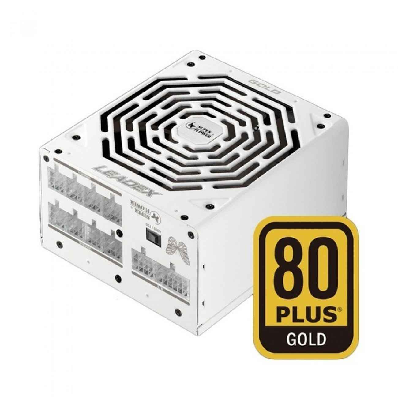Захранване Super Flower Leadex Gold, 850W, Active PFC, 80+ Gold, изцяло модулно, 140 mm вентилатор в Захранвания Настолни компютри - Super Flower | Alleop