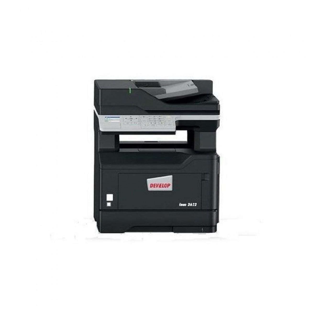 Мултифункционално лазерно устройство DEVELOP ineo 3622, монохромeн принтер.копир/скенер/факс, 1,200 x 1,200 dpi, 36 стр./мин, Wi-Fi, LAN, USB, A4 в Мултифункционали и MFP - Develop | Alleop