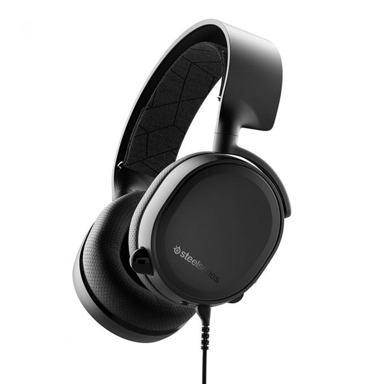 Слушалки Steel Series ARCTIS 3 2019 Edition, гейминг, микрофон, контрол на звука, черни в Слушалки - SteelSeries | Alleop