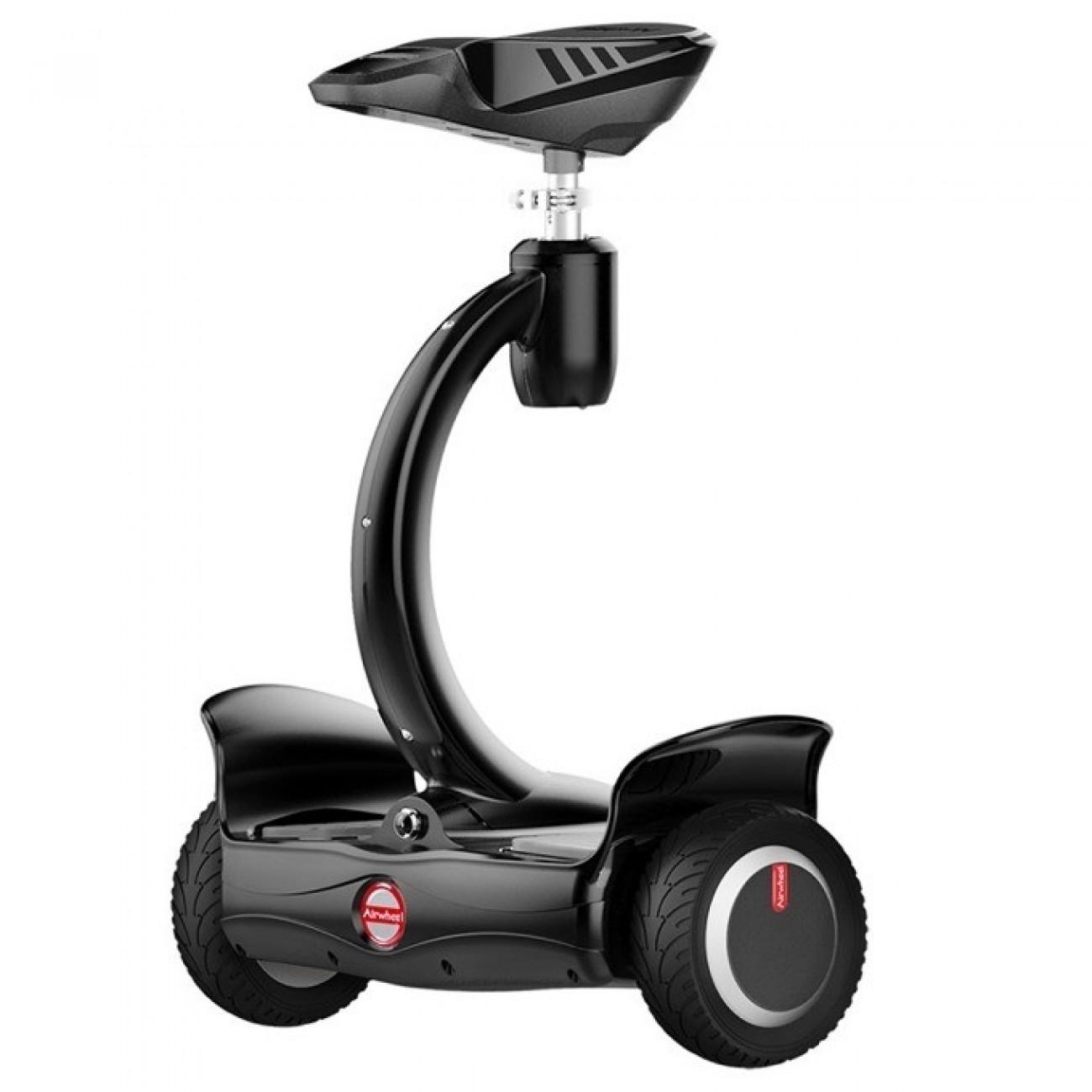 Електрически скутер Airwheel S8Mini, до 17км/ч, 360° завъртане, регулируем наклон, до 100кг, черен в Електрически превозни средства - Airwheel | Alleop