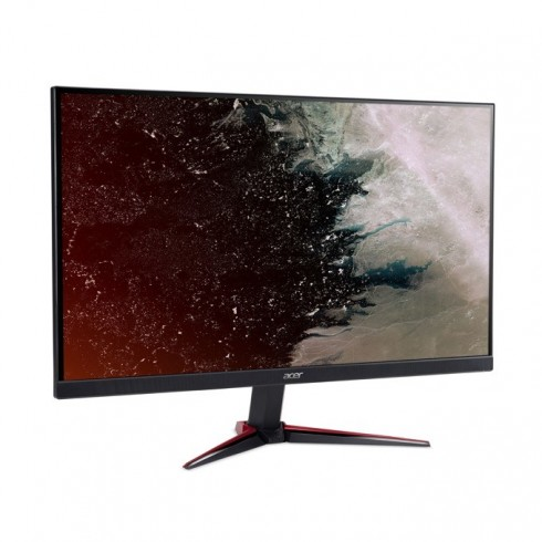 Монитор Acer Nitro VG240Ybmiix (UM.QV0EE.001), 23.8 (60.45 cm) IPS панел, 75 Hz, Full HD, 1 ms, 100M:1, 250 cd/m2, HDMI,VGA в Монитори - Acer | Alleop