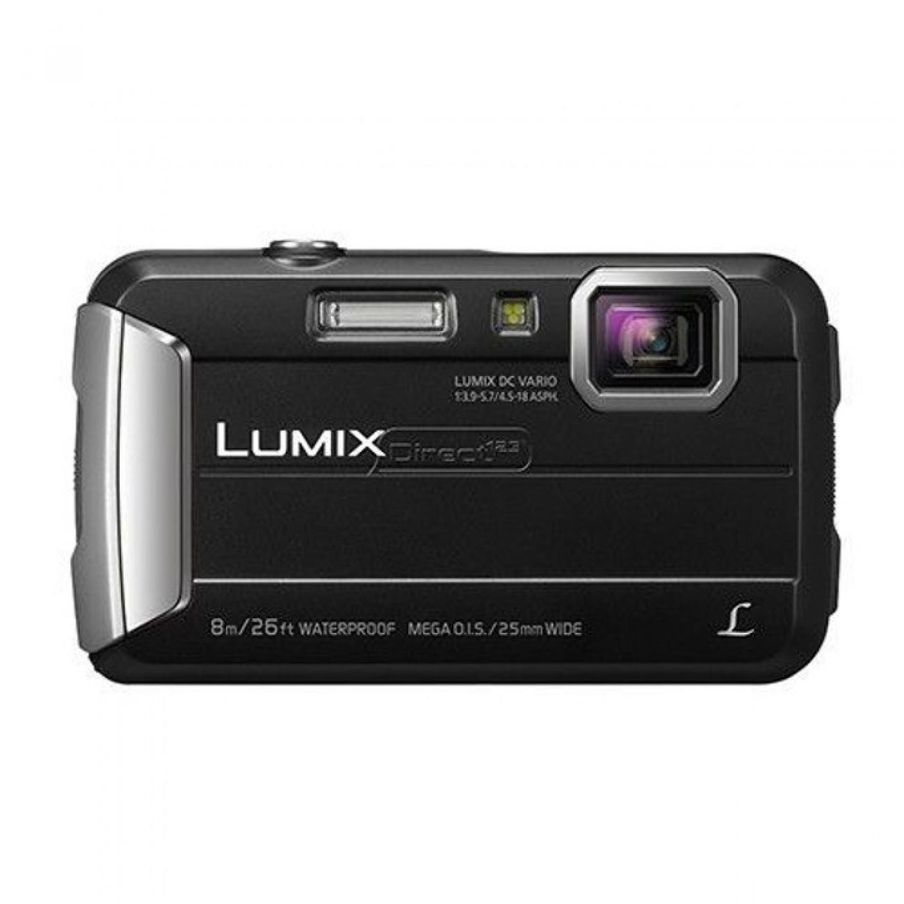 Фотоапарат Panasonic DMC-FT30EP, 4x оптично увеличение, 16.1 MPix, 2.7(6.85cm) LCD дисплей, SD card слот, AV изход, USB в Фотоапарати - Panasonic | Alleop