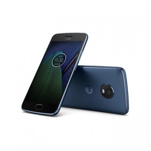 Смартфон Motorola Moto G5 Plus(син), 5.2 (13.21 cm) Full HD дисплей, осемядрен Qualcomm Snapdragon 625 2.0 GHz, 2GB RAM, 32GB Flash памет(+microSD слот), 12 & 5 Mpix camera, Android 7.0, 155 g в Мобилни телефони - Motorola | Alleop