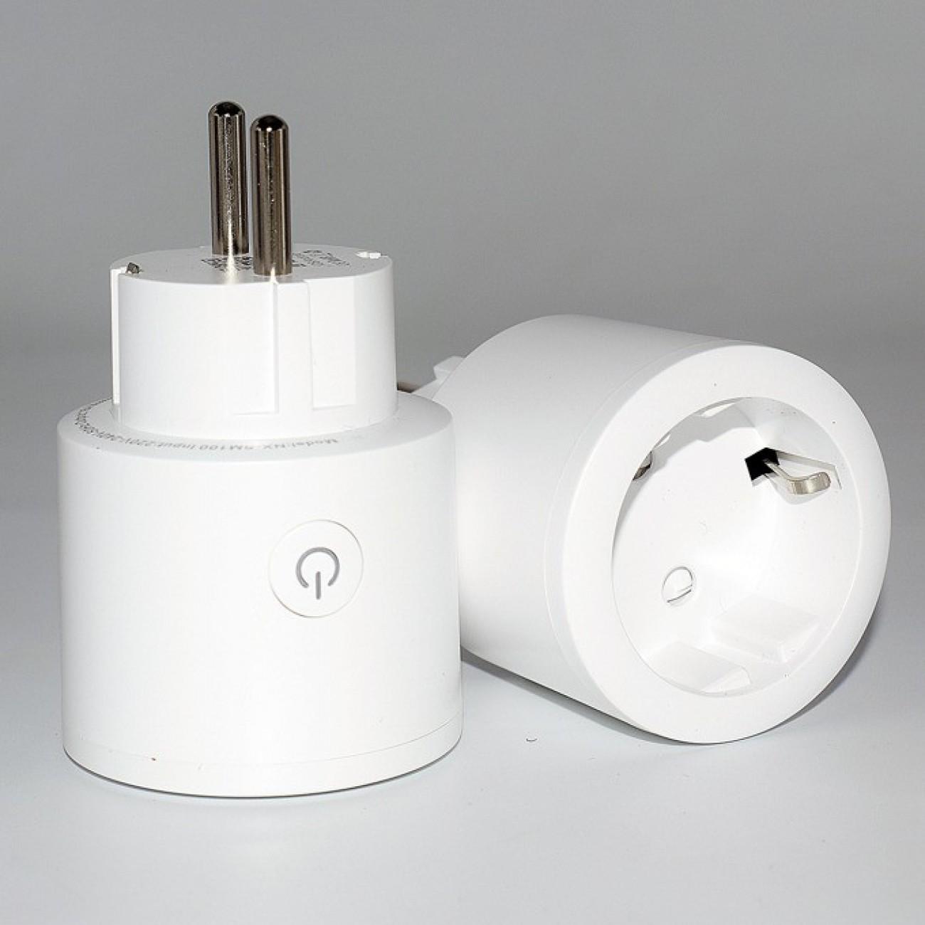 Смарт контакт Febite XS-SSB01, 3250W максимално натоварване, мониторинг на потреблението, Wi-Fi, бял в Смарт домашна автоматизация - Febite | Alleop