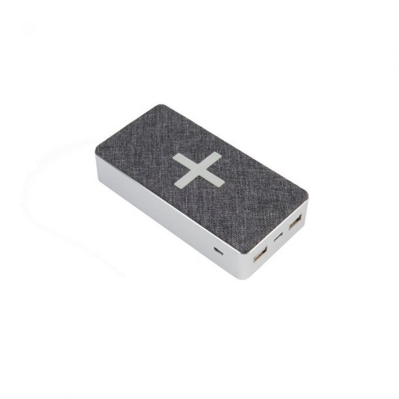 Външна батерия /power bank/ A-Solar Xtorm XW301 Qi Pad Motion, 16.000mAh, от USB-C 5V/2A, Micro USB 5V/2A към Qi Wireless 5W, 7.5W, 10W / 2x USB 5V/2A / 1x USB-C 5V/2A, сивo, безжично зареждане в Външни батерии - A-Solar | Alleop