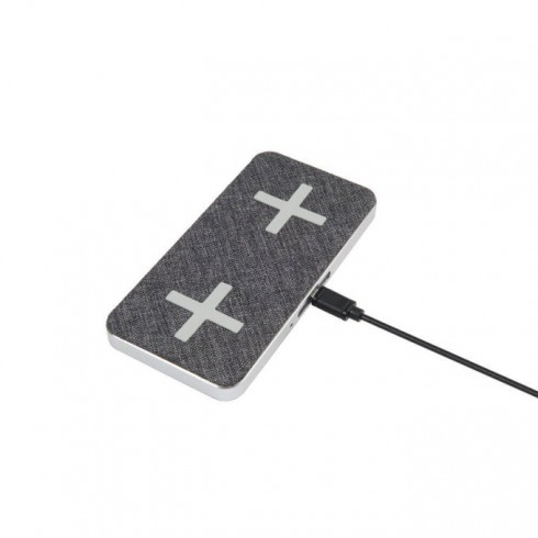 Безжично зарядно устройство A-Solar Xtorm XW205, от USB-C 5V/3A, 9V/2A, към 1x Qi Wireless 5W, 7.5W, 10W / 1x 5W (15W total), сиво в Зарядни устройства за батерии - A-Solar | Alleop