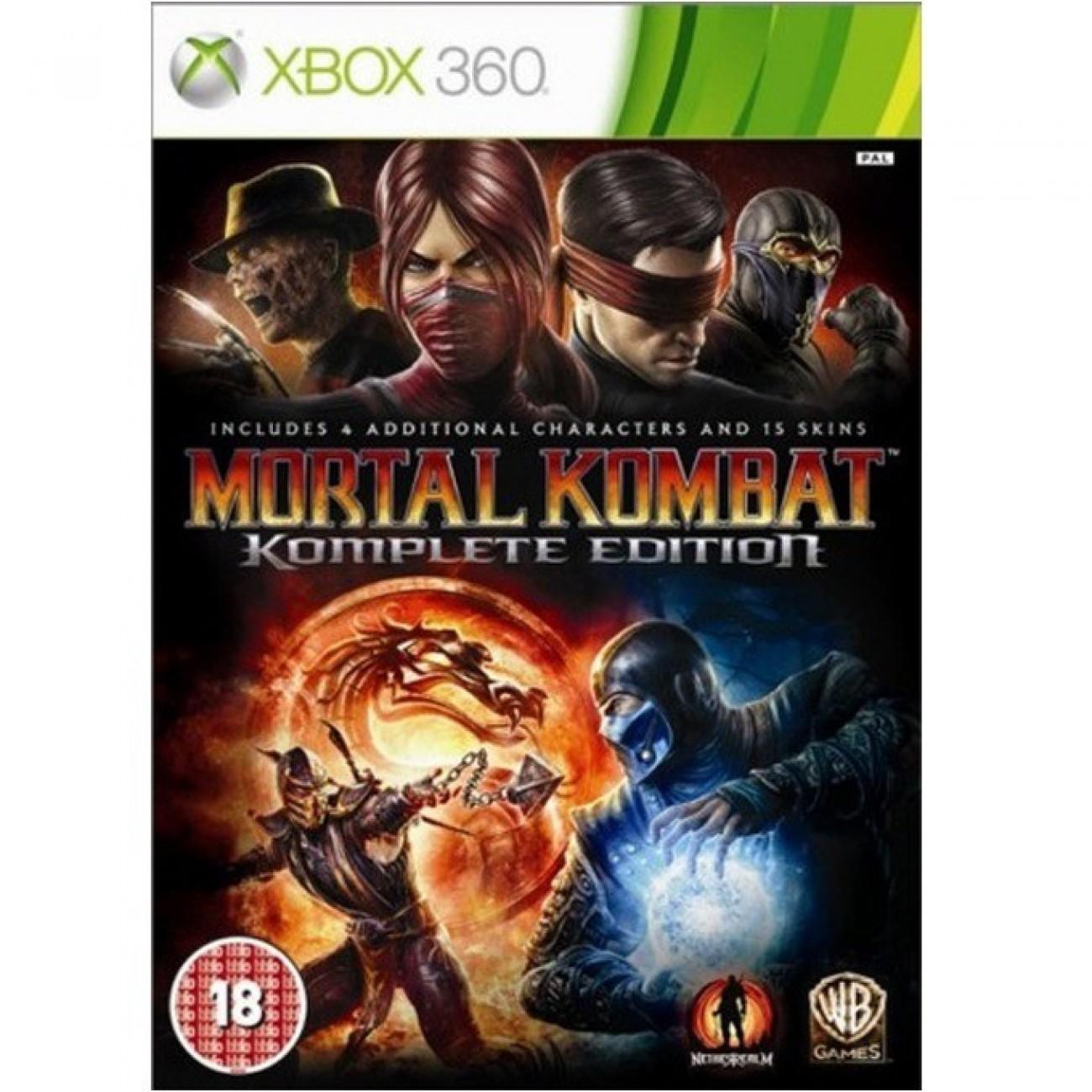 Игра за конзола Mortal Kombat Komplete Edition, за Xbox 360 в Игри за Конзоли - WB Interactive | Alleop