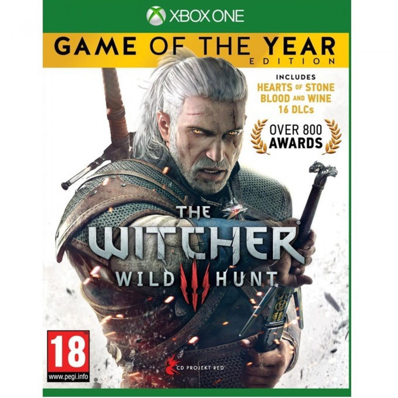 Игра за конзола The Witcher 3: Wild Hunt Game Of The Year Edition, за Xbox One в Игри за Конзоли - CD Project Red | Alleop