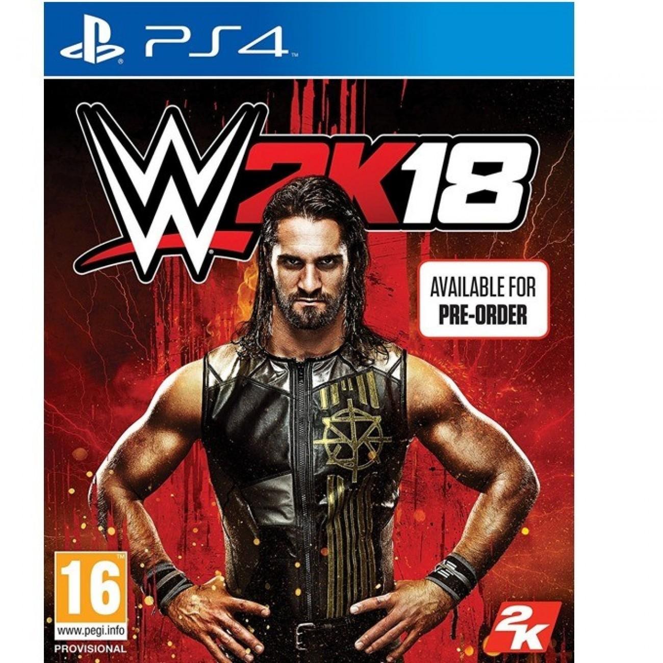 Игра за конзола WWE 2K18, за PS4 в Игри за Конзоли - 2K Games | Alleop