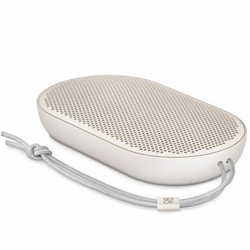 Тонколона Bang & Olufsen Beoplay Speaker P2, 1.0, 2x 50W, Bluetooth, 1x USB-C, микрофон, син, до 10 часа непрекъснато работа, бежова в Колони - Bang & Olufsen | Alleop