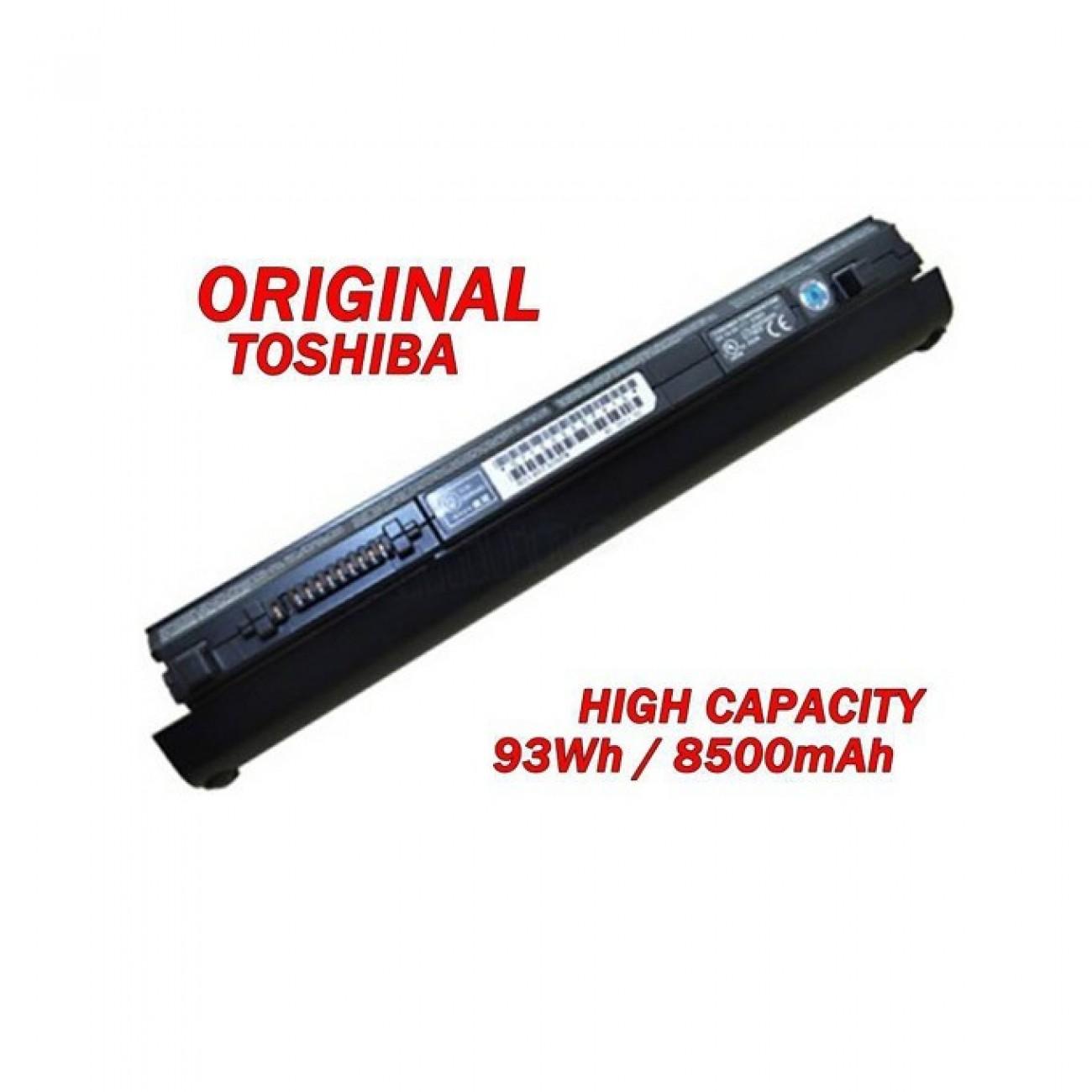 Батерия (оригинална) Toshiba съвместима с Portege R700 R830 R930 Tecra R700 R840 R940 Satellite R630 R800 R830 PA3930U-1BRS, 10.8V, 8500mAh, 9 клетъчна, Li-ion в Батерии за Лаптоп - Toshiba | Alleop
