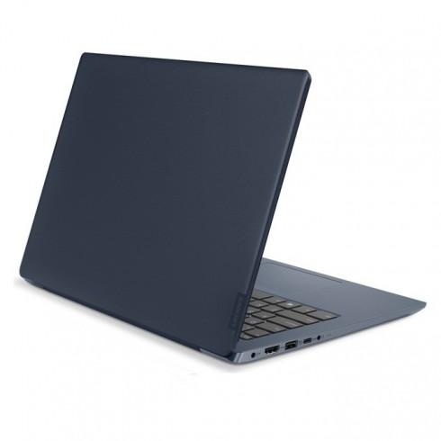 Лаптоп Lenovo IdeaPad 330S-14IKB (81F400BCBM)(син), четириядрен Kaby Lake R Intel Core i5-8250U 1.6/3.4GHz, 14 (35.56 cm) Full HD IPS Anti-Glare Display, (HDMI), 4G DDR4, 128GB SSD, 1x USB 3.1 Type-C, Free DOS, 1.90 kg в Лаптопи - Lenovo | Alleop