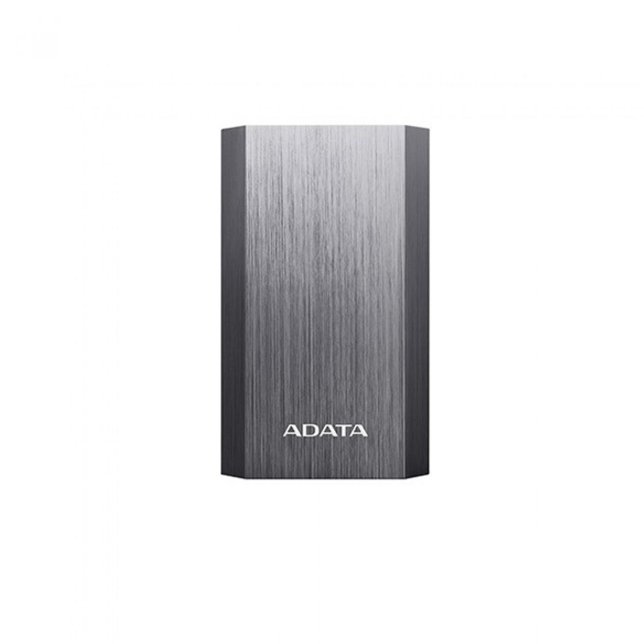 Външна батерия/power bank/ A-Data A10050, 10050mAh, титаниево сиво в Външни батерии - A-Data | Alleop