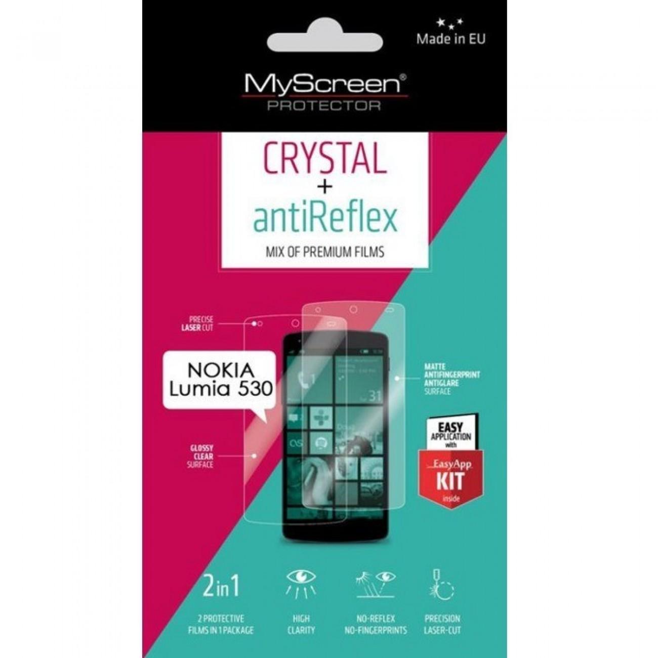 Протектор от закалено стъкло /Tempered Glass/ My Screen Protector, за Nokia Lumia 530, с Anti-Glare фолио в Защитно фолио - My Screen Protector | Alleop