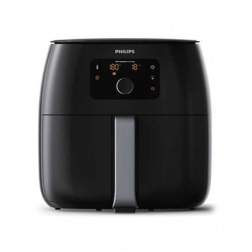 Фритюрник Philips HD9650/90, 1,4 кг, aвтоматично изключване, технология Rapid Air, технология Twin TurboStar, 2225 W, черен