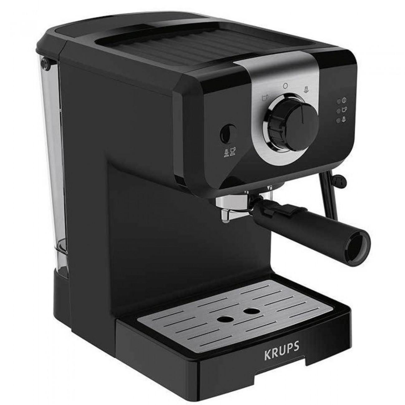 Кафемашина Krups XP320830, 1050W, 15 bar, черен в Еспресо машини - KRUPS | Alleop