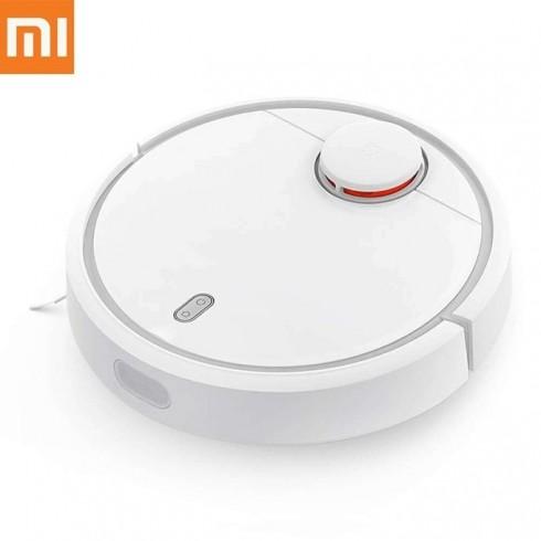 Прахосмукачка Xiaomi Mi Robot Vacuum, робот, безжична, 55 W, 0.48 л. капацитет на контейнера, до 150 мин. работа, бяла