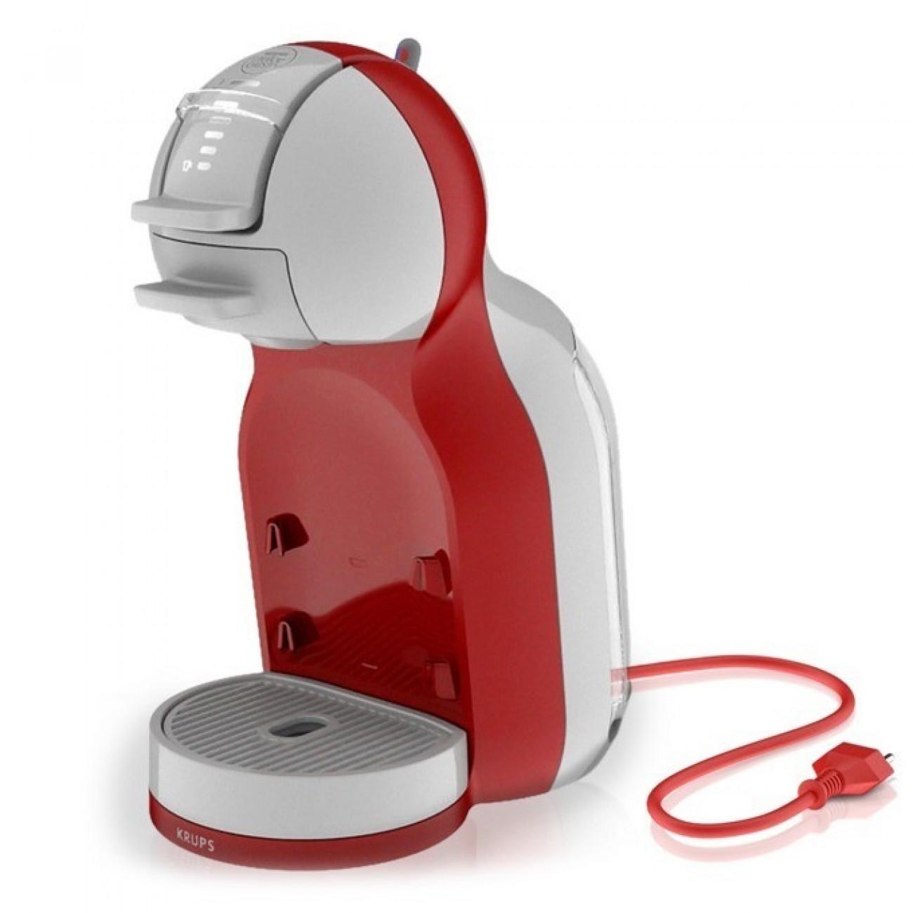 Ръчна еспресо машина Krups Nescafe Dolce Gusto MINI ME, 1500 W, 15 bar, червена в Кафемашини -  | Alleop