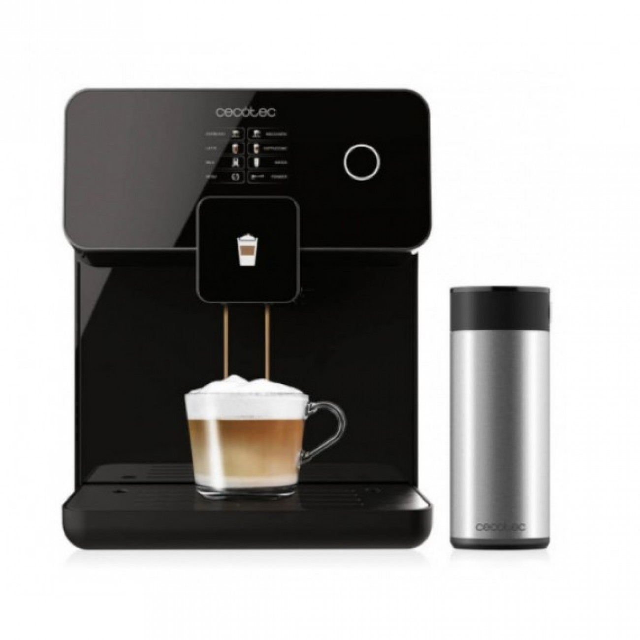 Кафеавтомат Cecotec Power Matic-ccino 8000 Touch Serie Nera в Кафемашини -  | Alleop
