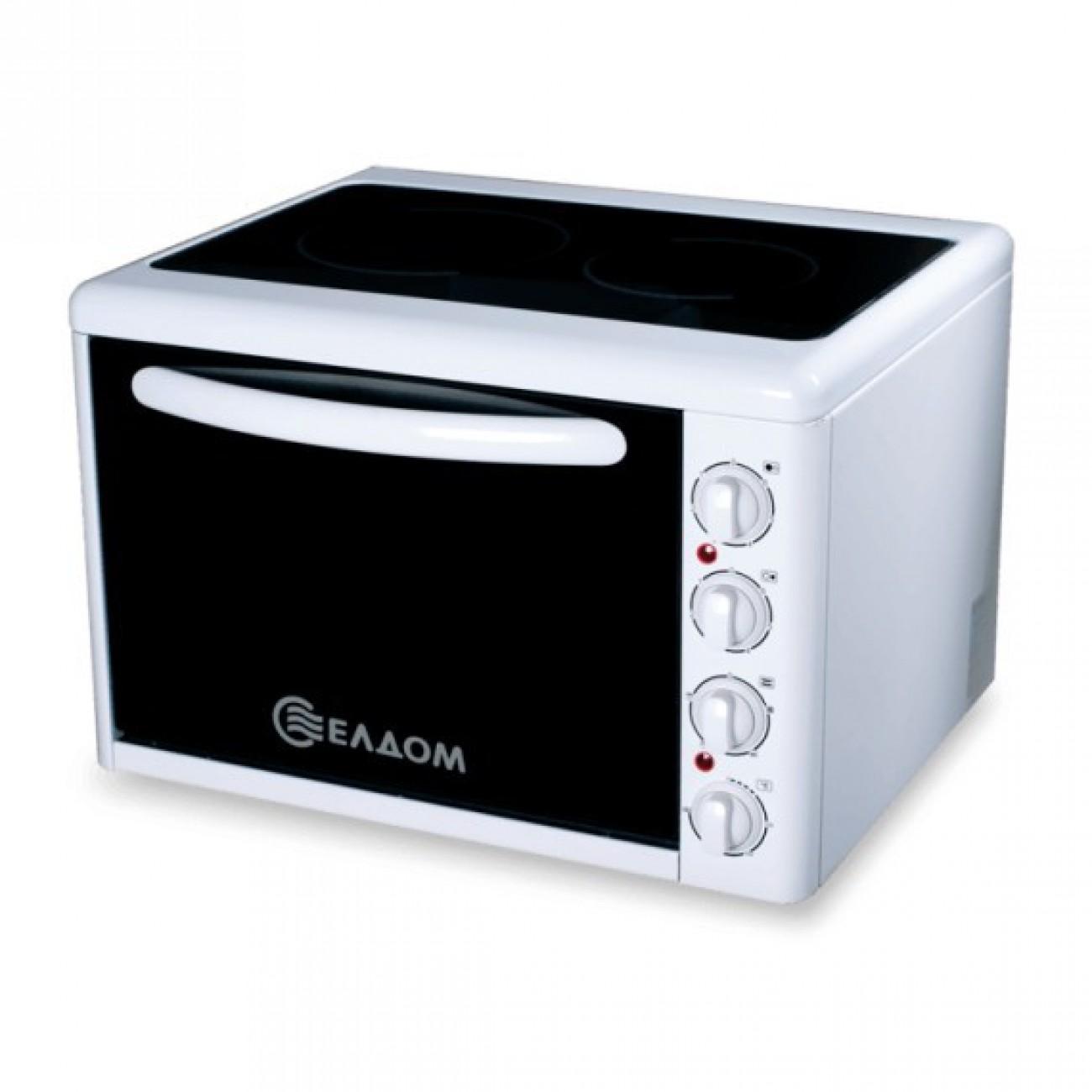 Мини готварска печка Eldom 201VFE в Малки готварски печки -  | Alleop