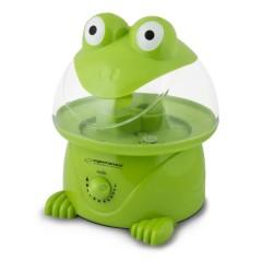 Овлажнител на въздух Esperanza EHA006 Froggy, 25W, 3.5 литра, До 40 m², Зелен