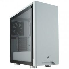 Кутия Corsair Carbide Series 275R (CC-9011133-WW), ATX, 2x USB 3.0, 2x 3.5mm жак, прозорец, бяла, без захранване